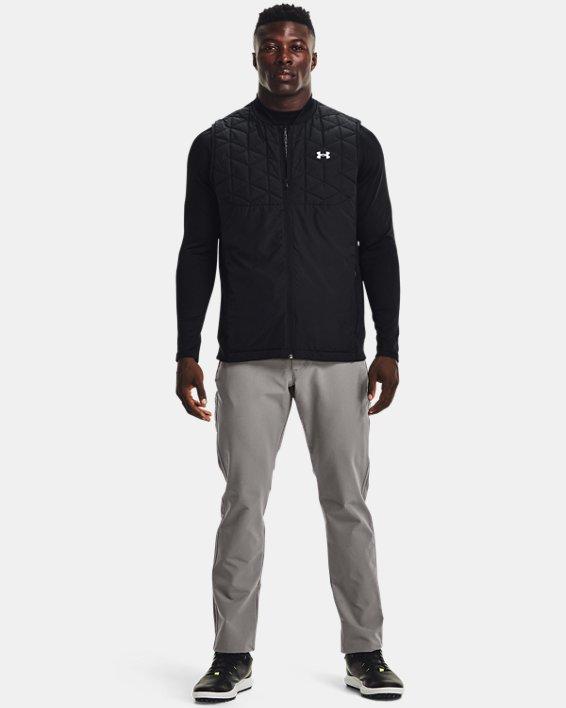 Men's ColdGear® Infrared Tapered Pants, Gray, pdpMainDesktop image number 2