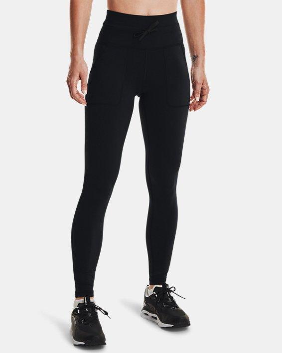 Women's UA HydraFuse Cargo Leggings, Black, pdpMainDesktop image number 1