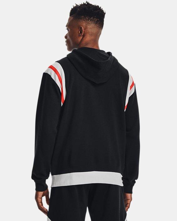 Men's UA Rival Fleece Alma Mater Full-Zip Hoodie, Black, pdpMainDesktop image number 2