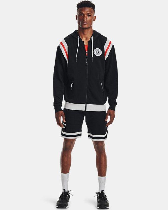 Men's UA Rival Fleece Alma Mater Full-Zip Hoodie, Black, pdpMainDesktop image number 0