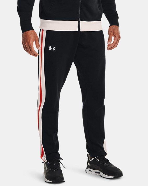 Men's UA Rival Fleece Alma Mater Pants, Black, pdpMainDesktop image number 1