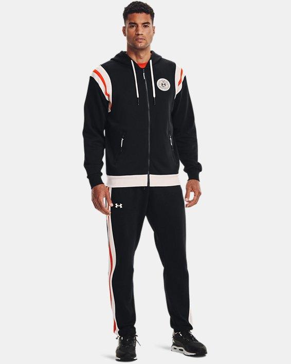 Men's UA Rival Fleece Alma Mater Pants, Black, pdpMainDesktop image number 0