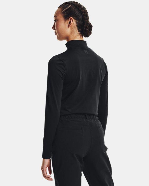 Camiseta de golf de manga larga ColdGear® Infrared Storm para mujer, Black, pdpMainDesktop image number 1
