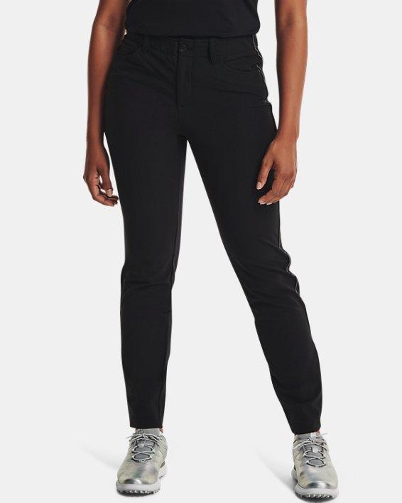 Women's UA Links ColdGear® Infrared 5-Pocket Pants, Black, pdpMainDesktop image number 0