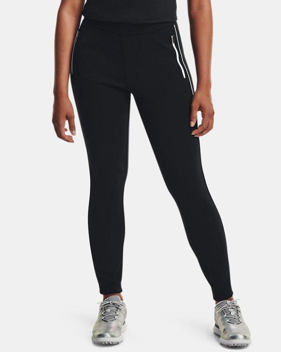Women's UA Links Pull-On Pants, Black, pdpMainDesktop image number 1