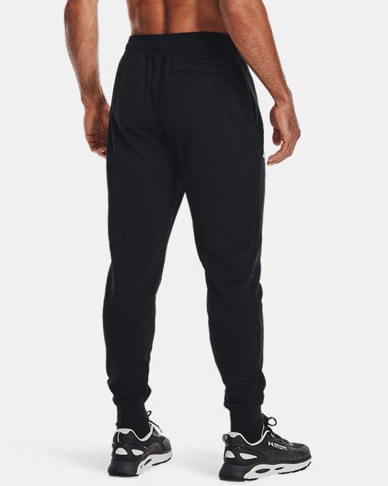 Jogger de tejido Fleece UA Rival Signature para hombre, Black, pdpMainDesktop image number 1