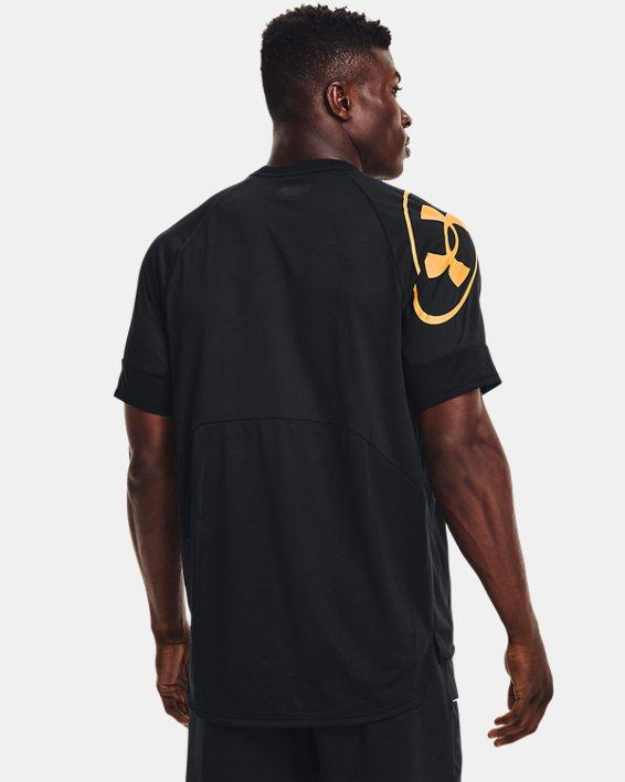 Men's UA Evolution Training Short Sleeve, Black, pdpMainDesktop image number 1