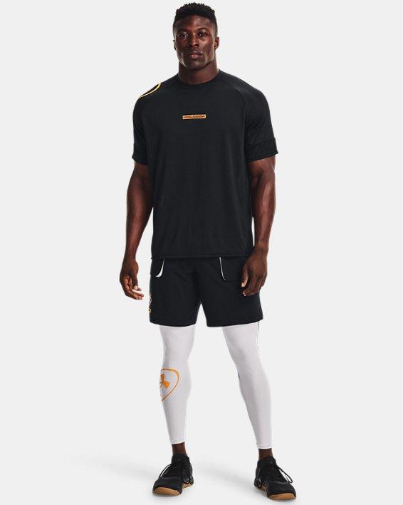 Men's UA Evolution Training Short Sleeve, Black, pdpMainDesktop image number 2