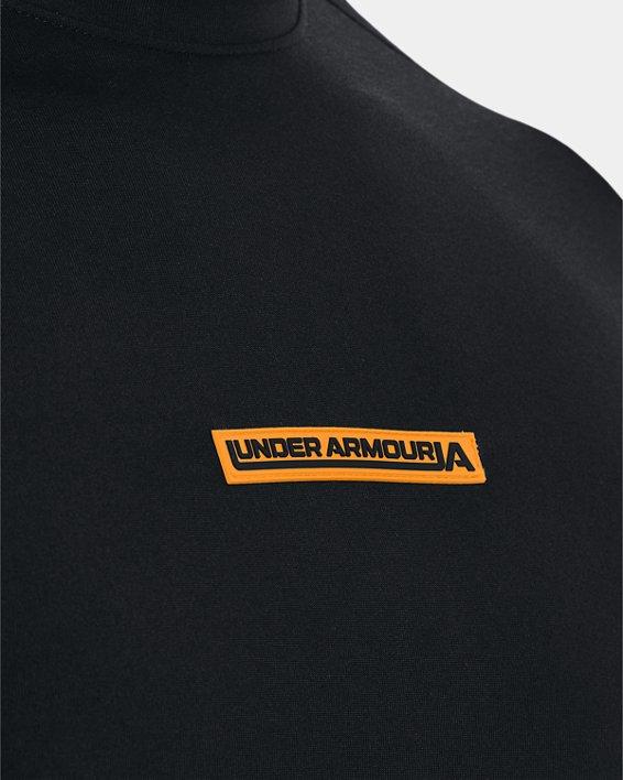 Men's UA Evolution Training Short Sleeve, Black, pdpMainDesktop image number 3