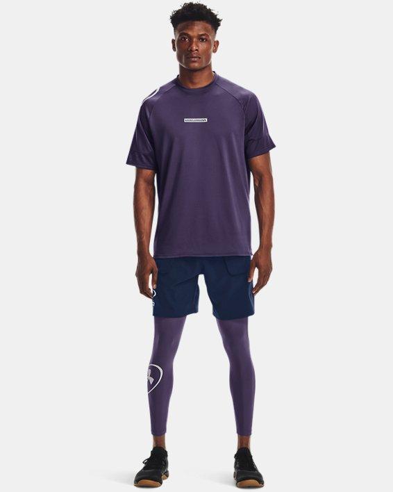 Men's UA Evolution Train Shorts, Navy, pdpMainDesktop image number 2