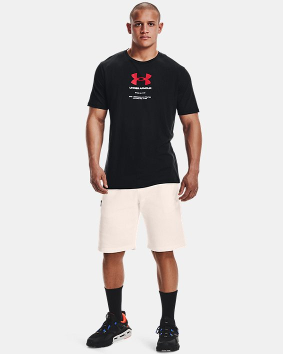 Men's UA Engineered Symbol Short Sleeve, Black, pdpMainDesktop image number 0