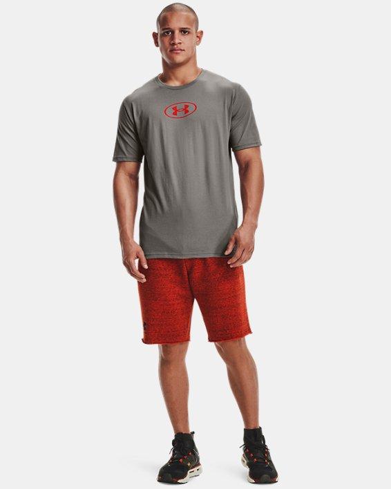 Men's UA Only Way Is Through Short Sleeve, Gray, pdpMainDesktop image number 0
