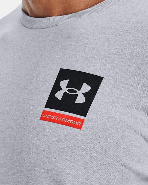 Men's UA 21230 Photoreal Short Sleeve, Gray, pdpMainDesktop image number 3