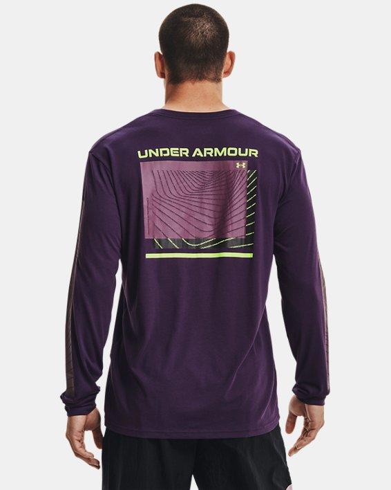 Men's UA 21230 Swerve Long Sleeve, Purple, pdpMainDesktop image number 1