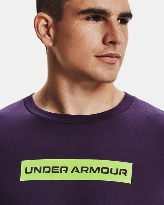 Men's UA 21230 Swerve Long Sleeve, Purple, pdpMainDesktop image number 3