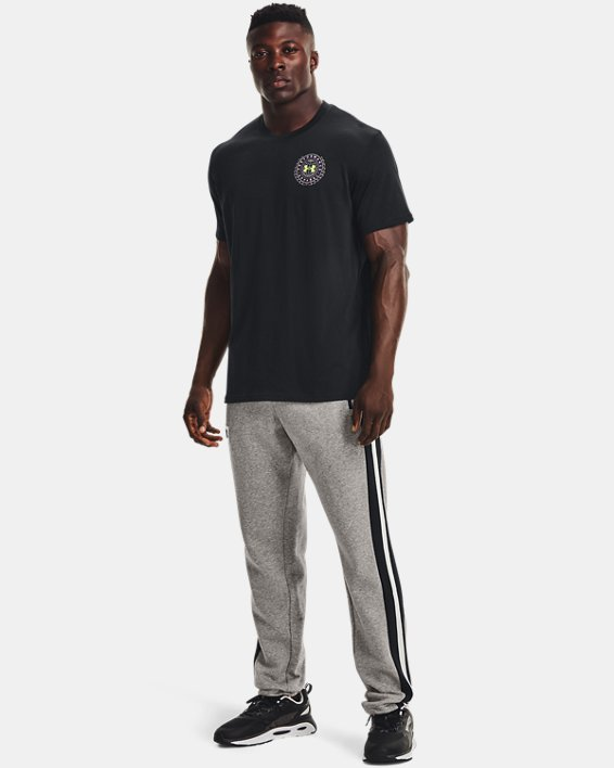 Camiseta de manga corta UA Alma Mater Crest para hombre, Black, pdpMainDesktop image number 0