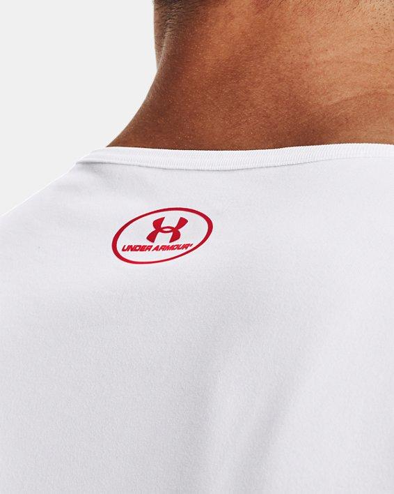 Men's UA Tech™ 2.0 Signature Tank, White, pdpMainDesktop image number 5