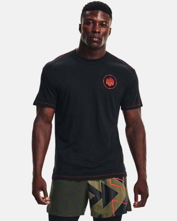 Men's UA Run Anywhere Short Sleeve, Black, pdpMainDesktop image number 1