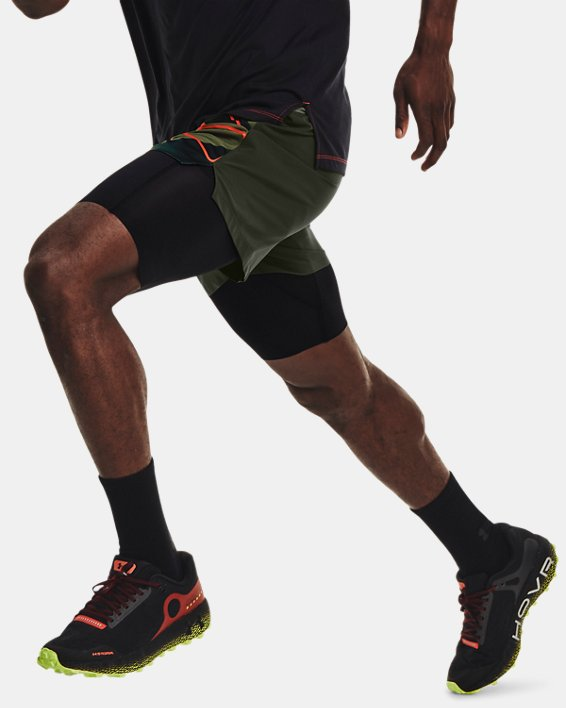 Men's UA Run Anywhere Shorts, Green, pdpMainDesktop image number 5