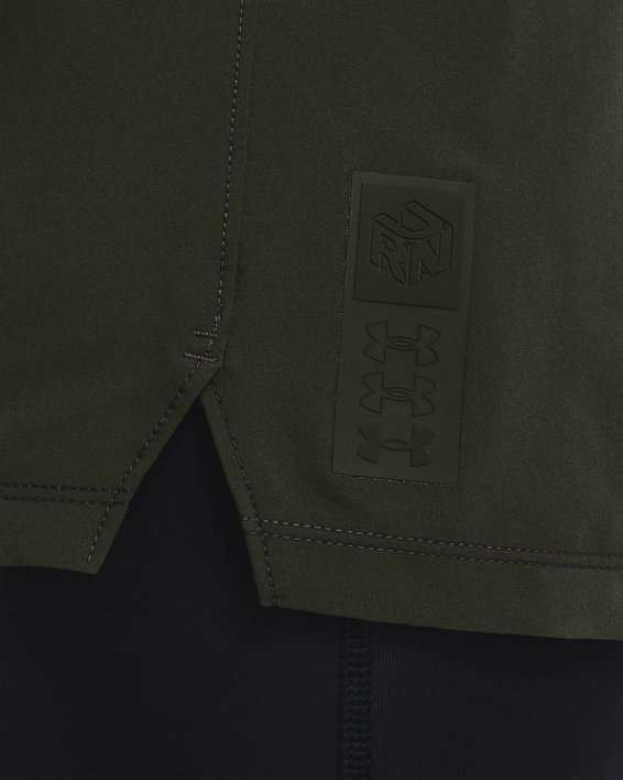 Men's UA Run Anywhere Shorts, Green, pdpMainDesktop image number 2