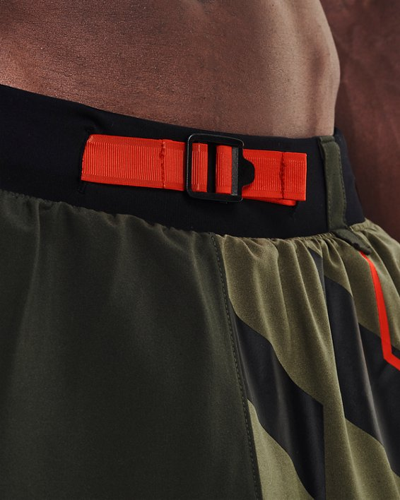 Men's UA Run Anywhere Shorts, Green, pdpMainDesktop image number 7