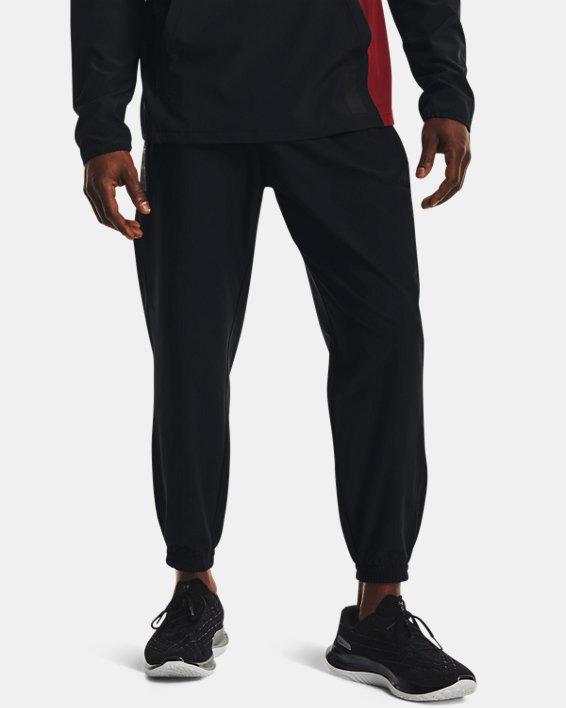 Men's UA Run Anywhere Pants, Black, pdpMainDesktop image number 1
