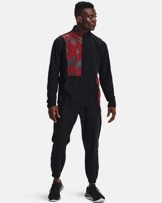 Men's UA Run Anywhere Pants, Black, pdpMainDesktop image number 0