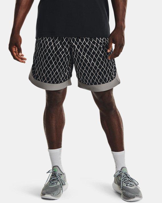 Men's Curry Versa Mesh Shorts, Black, pdpMainDesktop image number 0