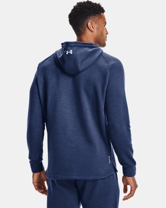 Herenhoodie Project Rock Charged Cotton® Fleece, Blue, pdpMainDesktop image number 1