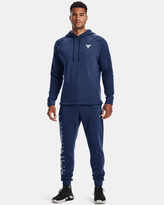 Herenhoodie Project Rock Charged Cotton® Fleece, Blue, pdpMainDesktop image number 2
