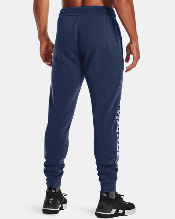 Men's Project Rock Charged Cotton® Fleece Joggers, Blue, pdpMainDesktop image number 1
