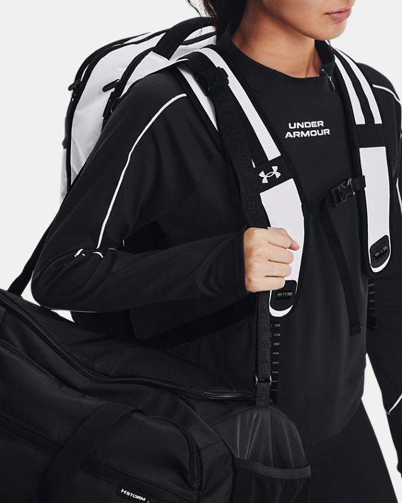UA Hustle Pro Backpack, White, pdpMainDesktop image number 6