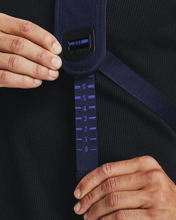 UA Hustle Pro Backpack, Navy, pdpMainDesktop image number 6