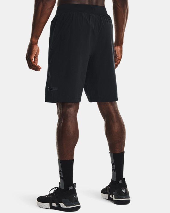 Men's Project Rock Unstoppable Shorts, Black, pdpMainDesktop image number 1