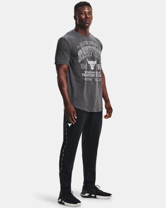 Men's Project Rock BSR Short Sleeve, Black, pdpMainDesktop image number 2