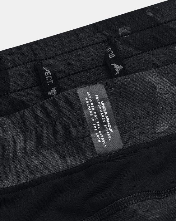Men's Project Rock Camo Compression Shorts, Black, pdpMainDesktop image number 7