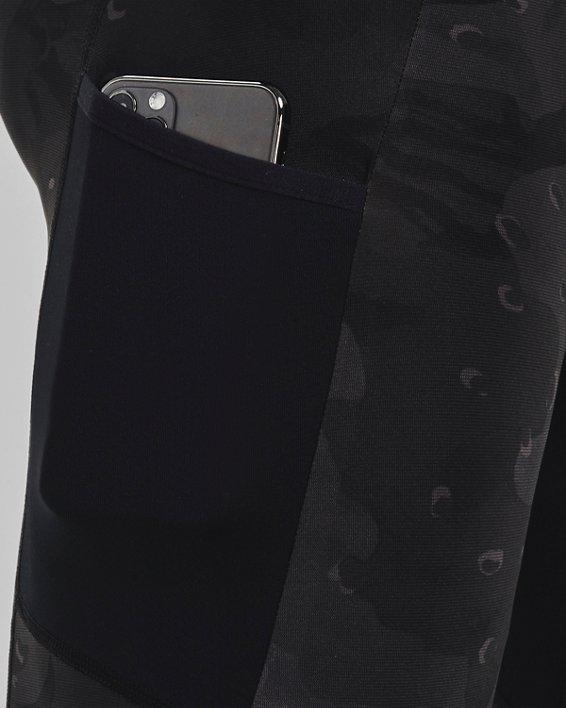 Men's Project Rock Camo Compression Shorts, Black, pdpMainDesktop image number 3
