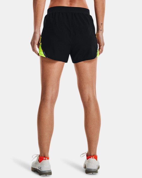 Women's UA Keep Run Weird Shorts, Black, pdpMainDesktop image number 1