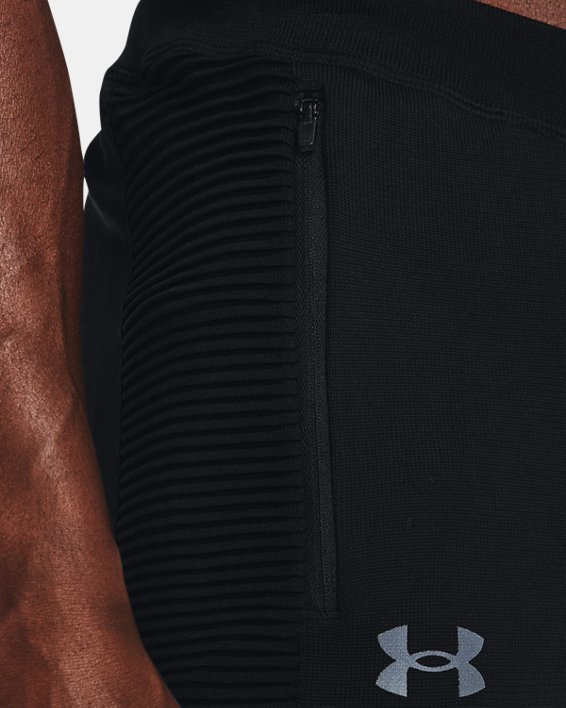 Men's UA IntelliKnit Pants, Black, pdpMainDesktop image number 5