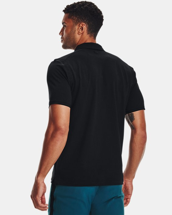Men's Curry Icon Polo, Black, pdpMainDesktop image number 1