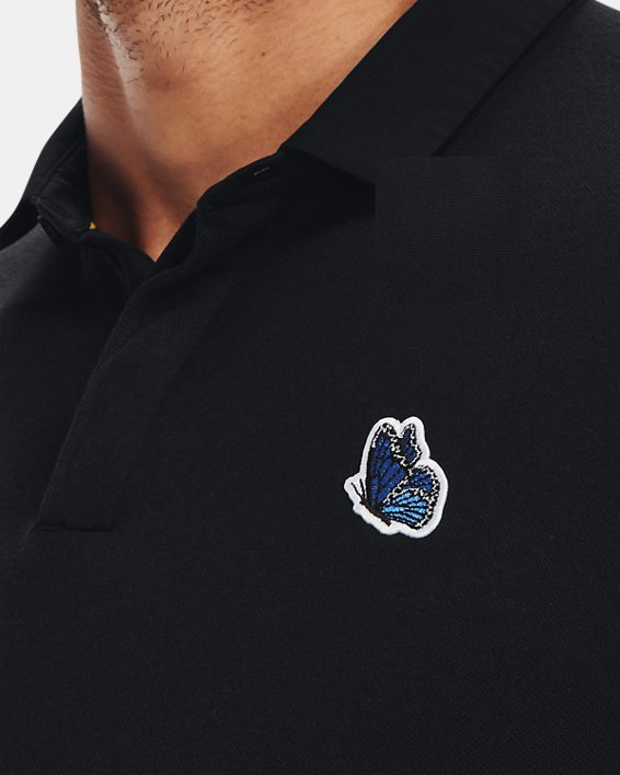 Men's Curry Icon Polo, Black, pdpMainDesktop image number 4