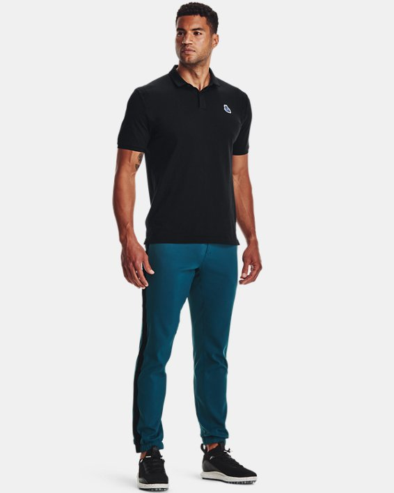 Men's Curry Icon Polo, Black, pdpMainDesktop image number 2
