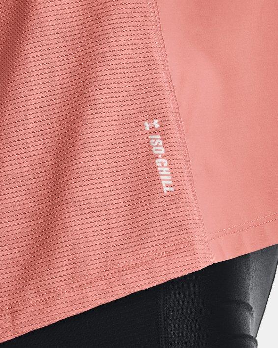 Camiseta de manga corta UA Iso-Chill Run para mujer, Pink, pdpMainDesktop image number 5