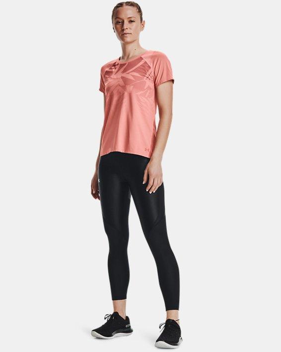 Camiseta de manga corta UA Iso-Chill Run para mujer, Pink, pdpMainDesktop image number 0
