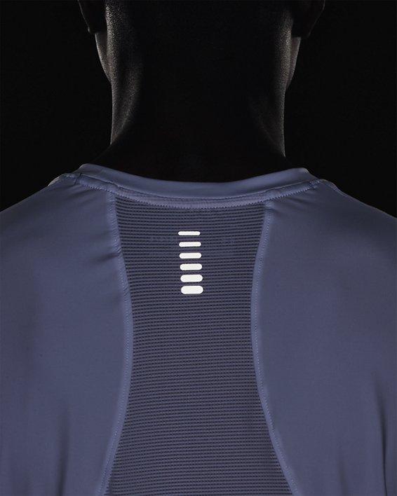 Men's UA Iso-Chill Run Short Sleeve, White, pdpMainDesktop image number 7