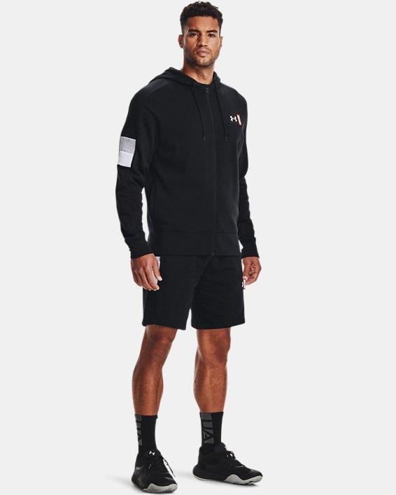 Men's UA Perimeter Fleece Shorts, Black, pdpMainDesktop image number 0