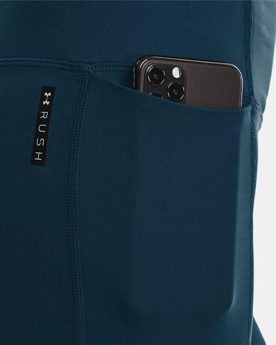 Women's UA SmartForm RUSH™ Custom Length Leggings, Blue, pdpMainDesktop image number 3