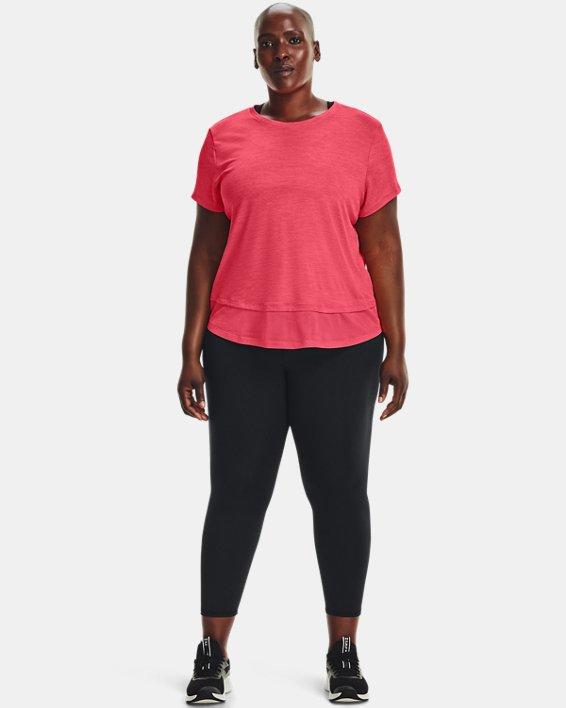 Women's UA Tech™ Vent Short Sleeve, Pink, pdpMainDesktop image number 0