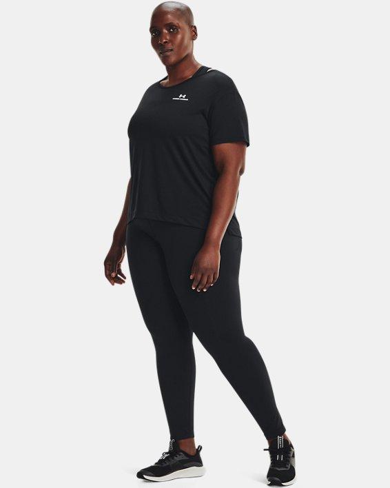 Women's UA RUSH™ Energy Core Short Sleeve, Black, pdpMainDesktop image number 2