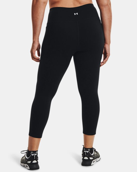 Women's UA Meridian Ankle Leggings, Black, pdpMainDesktop image number 1